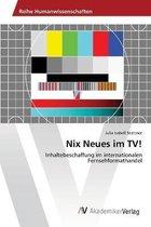 Nix Neues im TV!