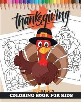 Thanksgiving - Coloring Book for kids