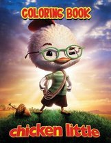 Chicken little coloring book
