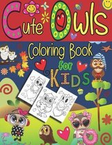 Cute Owls Coloring Book for Kids