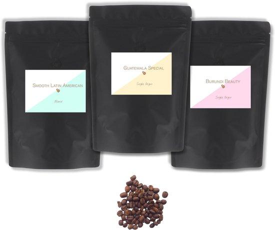 Specialty koffie proefpakket - 3x 100 gram exclusieve koffie - Hele bonen