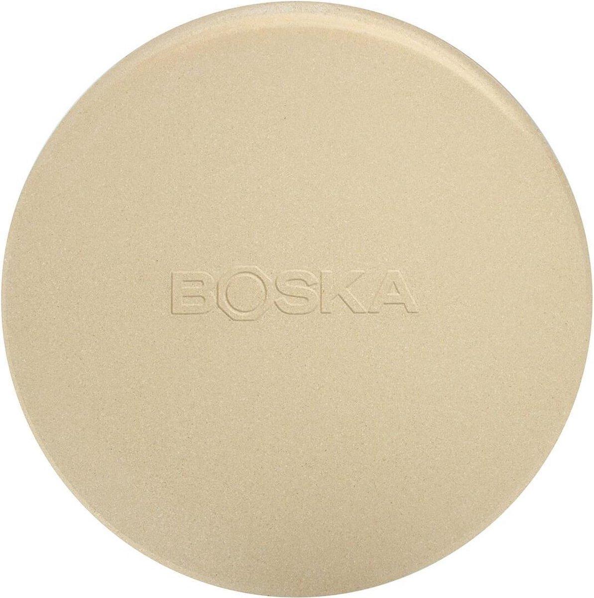 Boska Pizzasteen Deluxe - voor Oven & BBQ - Knapperige pizza's -   29.5 cm