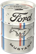 Spaarpot - Ford Mustang – Horse Stripes Logo (herbruikbaar)