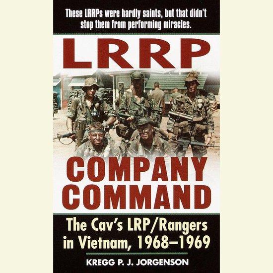 Boek cover LRRP Company Command van Kregg P. Jorgenson (Onbekend)
