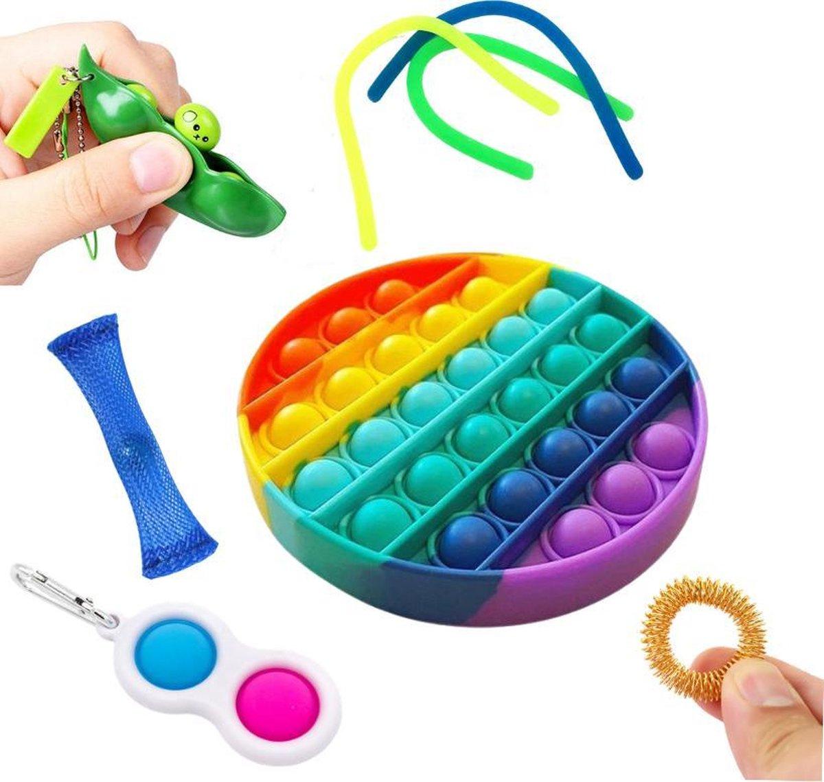 Fidget toys pakket onder de 15 euro - Fidget toy pakket onder de 10 euro - 4 delig - Fidget Toys - P