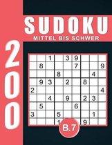 Sudoku Erwachsene Mittel Bis Schwer Band 7