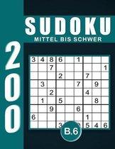 Sudoku Erwachsene Mittel Bis Schwer Band 6