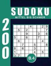 Sudoku Erwachsene Mittel Bis Schwer Band 4