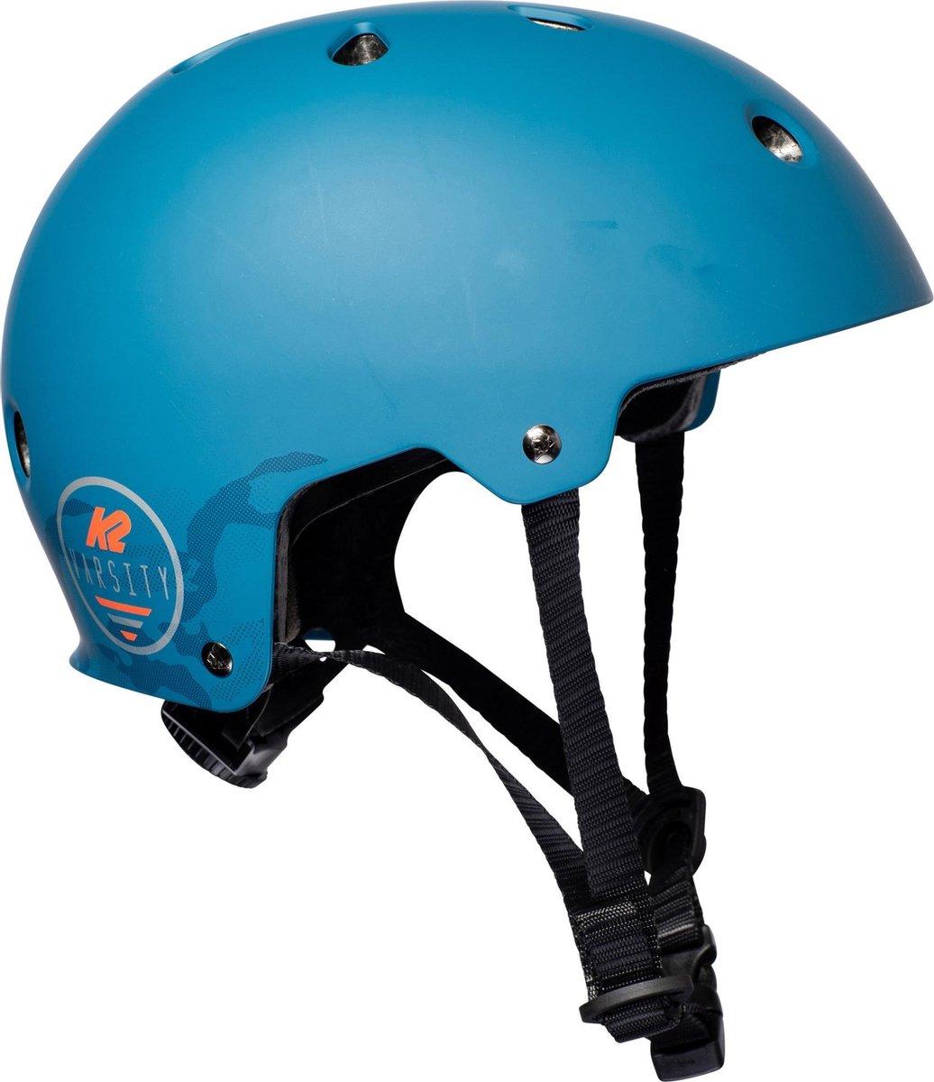 K2 Varsity Sporthelm - UnisexKinderen en volwassenen - blauw