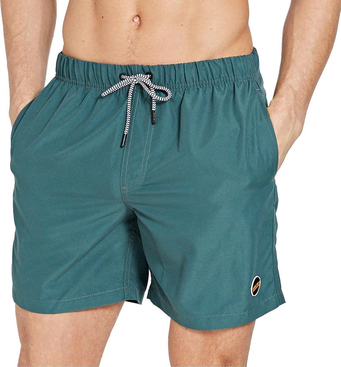 Shiwi Solid Mike Zwemshort  Zwembroek - Mannen - donker groen