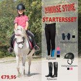 Startersset / Starterspakket voor paardrijden incl. veiligheidshelm