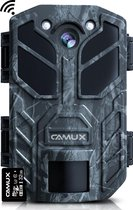 CAMUX Wildcamera met Nachtzicht - WiFi & Bluetooth - 30MP 4K ULTRA HD - Incl. APP en 32 GB SD