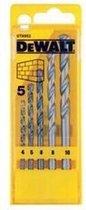 DeWalt DT6952 5 delige steenboorset in cassette