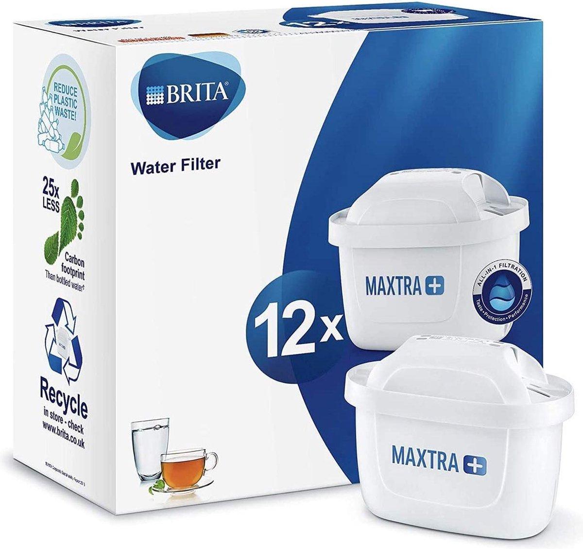 BRITA Maxtra+ Filterpatronen - 12 stuks - verbeterde filterprestaties