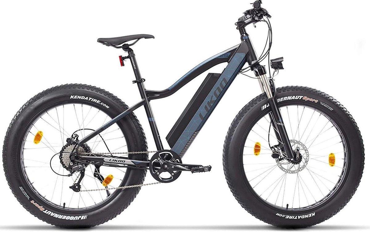 Qivelo Fito26 elektrische trekkingfiets  mountainbike Ebike Fiets - blauw