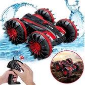 RC Bestuurbare auto / boot - Geschikt voor offroad, water & sneeuw rood - Kinderen / Volwassenen speelgoed stunt RC car / stuntauto 2021 TikTok
