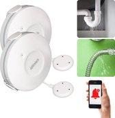 IDINIO Smart lekkagemelder - WIFI waterlekkage detector met app - duopack water alarm