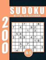 Sudoku Erwachsene Mittel Bis Schwer Band 5