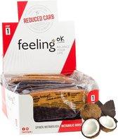 Feeling OK |  Savoiardo Glassato | Kokos Chocolade | Voordeelpakket | 15 x 43 gram  | Snel afvallen zonder hongergevoel!