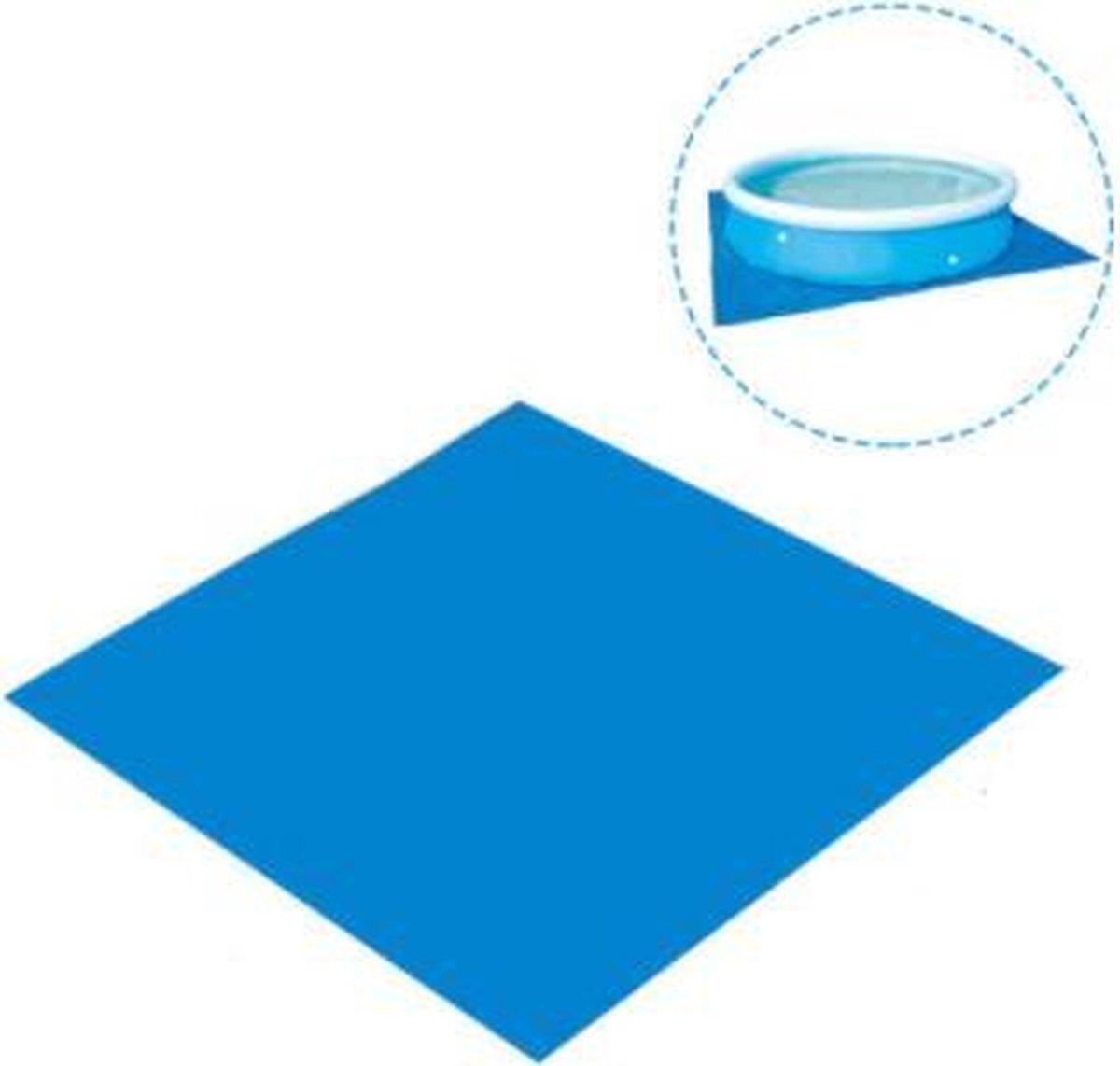 Dakta® Zwembad ondergrond | 274 cm x 274 cm |Vloer| Zwembadzeil | Afdekzeil | Dé vervanger voor Zwembadtegels & Foamtegels