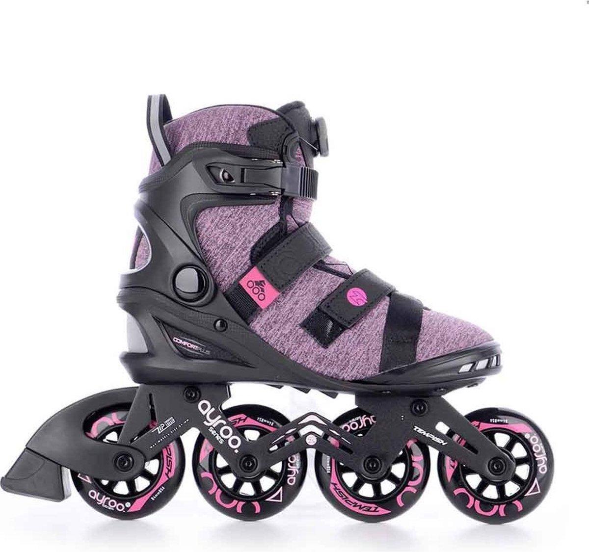 Tempish Ayroo top 84 dames inline skates black/pink - maat 39