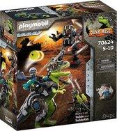 H: PLAYMOBIL Dino Rise T-Rex: gevecht der giganten - 70624 - Multi Colour
