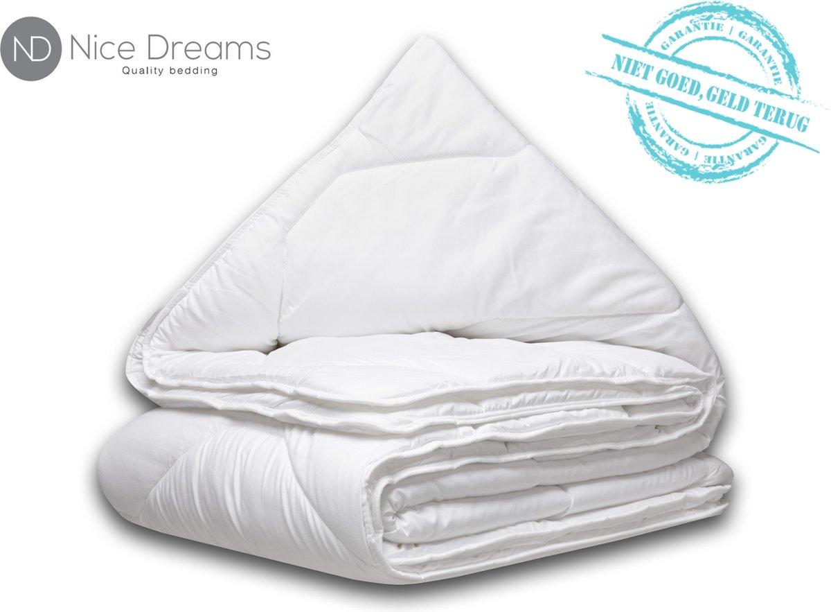 Nice Dreams - Dekbed 140x200 cm - Dekbed geschikt voor alle seizoenen - ALL YEAR DEKBED - 1 persoons