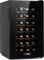 Klarstein Barolo 28 Uno wijnkoelkast 70 liter / 28 flessen - Temperatuurbereik 11 tot 18°C - Een koolzone