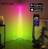 GeoLed ® Hoeklamp Smartphone App   Staanlamp   woonkamer lamp    vloerlampen   woonkamer vloerlamp   sfeerverlichting binnen