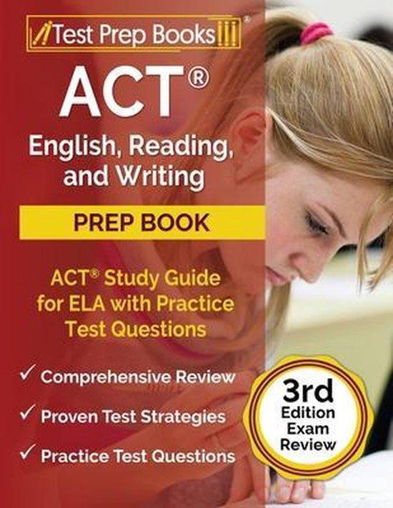 ACT English, Reading, and Writing Prep Book