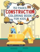 Construction Coloring Book For Kids