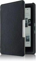 Beschermhoes Kobo Glo / Glo HD / Touch 2.0 - Sleepcover flip hoes Kobo Glo HD - Magnetische Sluiting Slaap/Wakker Cover – Zwart