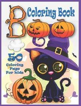 Boo Coloring Book