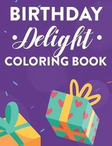 Birthday Delight Coloring Book