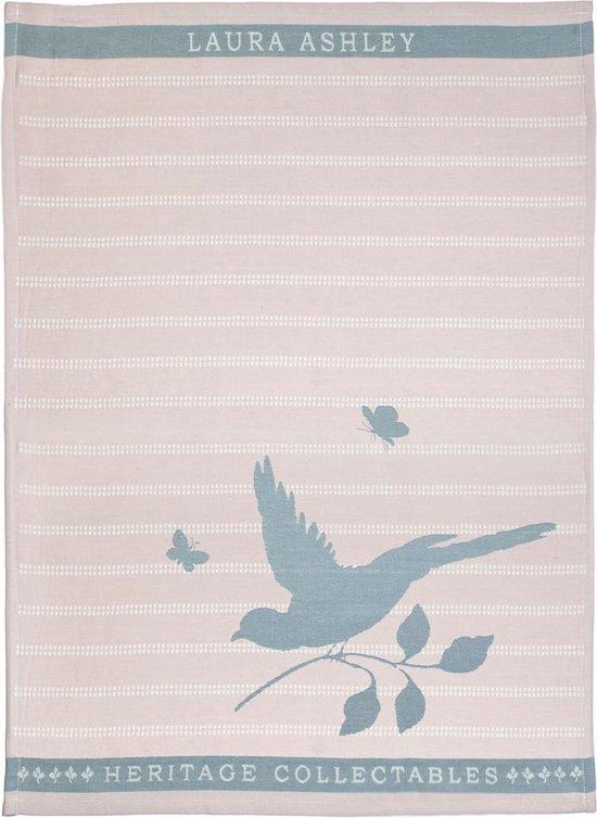 Laura Ashley Heritage Theedoek Blush Vogel 50×70 cm