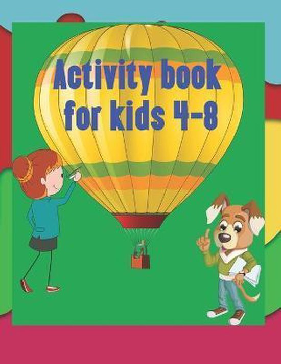 Activity Book For Kids 4-8