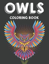Owls Coloring Book