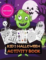 Kid's Halloween activity book