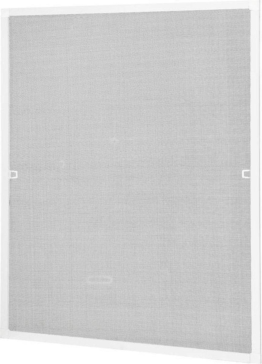 Raamhor Insectenhor Wit 130 x 150 cm inkortbaar