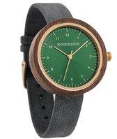 WoodWatch Bergen Grey Houten Dames Horloge - 36 mm