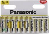Panasonic batterijen AA 10 stuks - Penlite Batterij AA