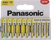 Panasonic batterijen AAA 10 stuks - Mini Penlite Batterij AAA
