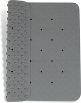 Douchemat Grijs - antislip mat 53 x 53 cm - antislipmat douche - badmat