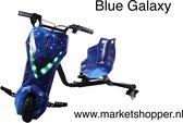 Elektrische drift trike karts met vering en LED verlichting - drie racestanden – BLUE GALAXY