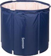 Sonnon Zitbad - Zitbad Voor Volwassenen - Zitbad - Bath Bucket - XL - Deep Blue
