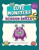 Scissor Skills cute monsters
