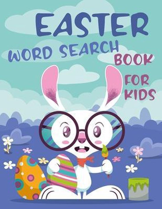 Easter Word Search Book For Kids