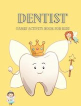Dentist' Games Activity Book for kids