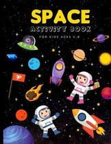 Space Activity Book for Kids Aged 4-8