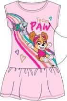 Paw Patrol zomerjurk - kleedje - met Skye en Everest - Roos - / jaar